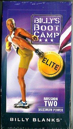 Billys Boot Camp Elite Mission 2 Maximum Power TaeBo Kickbox Aerobic Tae Bo Exercise Video VHS NEW
