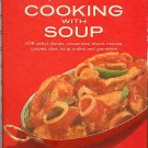 Campbell Cooking with Soup Vintage Red Cookbook Excellent Condition