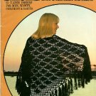 Leisure Arts British Knit and Crochet Patterns Vintage 1975 Pattern Book