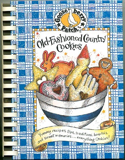 Gooseberry Patch Old Fashioned Country Cookies Cooky Baking Cookbook