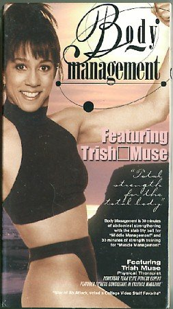 Body Management Featuring Trish Muse VHS Stability Ball Exercise Video New