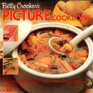 Betty Crocker's Step By Step Picture Cookbook Vintage 1983 hc+dj