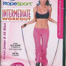 DVD - RopeSport Jump Rope Intermediate Workout Exercise Video NEW