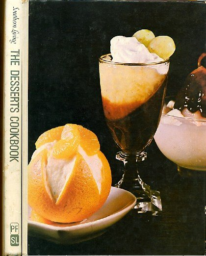 Southern Living The Desserts Cookbook Vintage 1971 Cook Book