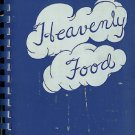 Heavenly Food Church Fundraising Cookbook Vintage 1956 Scituate Mass
