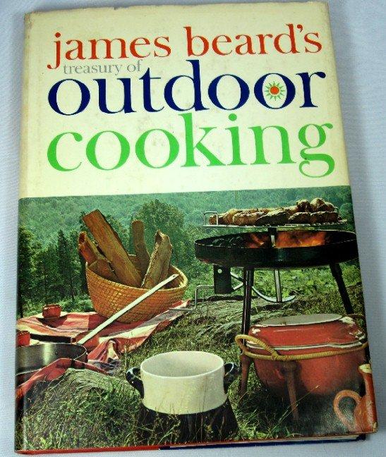 James Beards Treasury of Outdoor Cooking Vintage 1960 Cookbook HC+DJ Excellent Condition
