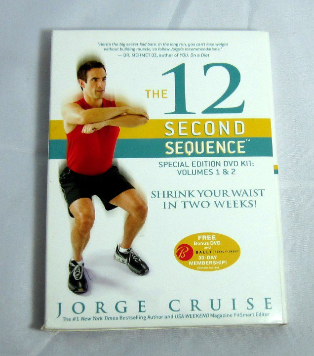 Jorge Cruise 12 Second Sequence Special Edition 3 DVD Kit Exercise Video