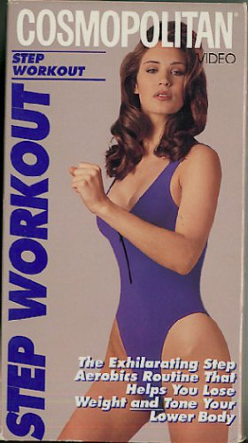 Cosmopolitan Step Workout Aerobic Exercise Video VHS Tape