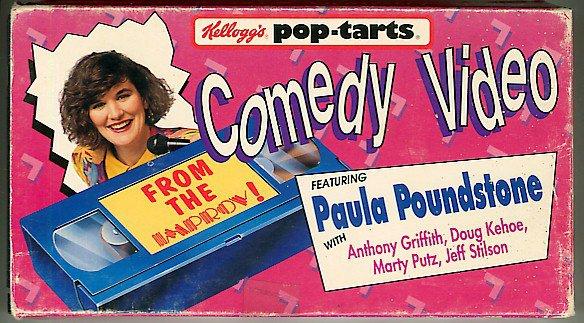 Kelloggs Pop Tarts From the Improv Paula Poundstone comedy video VHS