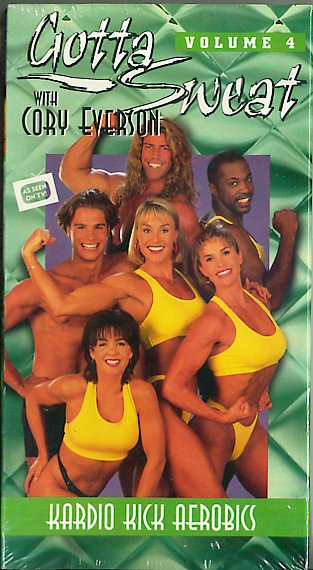 Gotta Sweat with Cory Everson Volume 4 Kardio Kick Aerobics VHS Exercise Video NEW
