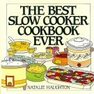Best Slow Cooker Cookbook Ever Haughton Crockpot Recipes lay flat hardcover