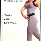 Weight Watchers Tone and Stretch Muscle Strengthening Workout Legs Abs Buns Flexibility VHS Video