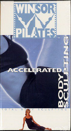 Winsor Pilates Accelerated Body Sculpting VHS Exercise Video Tape NEW