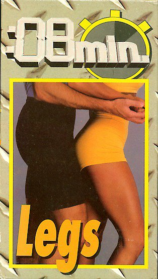 8 minute legs Jaime Brenkus 16 30-second thigh calves toning exercise workout VHS