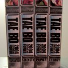 Tae Bo 2004 Capture the Power 4 VHS Exercise Video Set - Foundation, Strength, Energy, Power