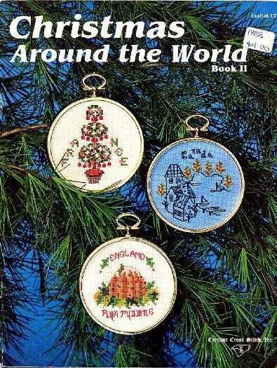 Christmas Around The World Book 2 Carolina Cross Stitch Pattern Booklet Leaflet 17