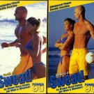 2 VHS Set Power 90 Sweat! Cardio 1-2 and 3-4 Boot Camp Exercise Videos