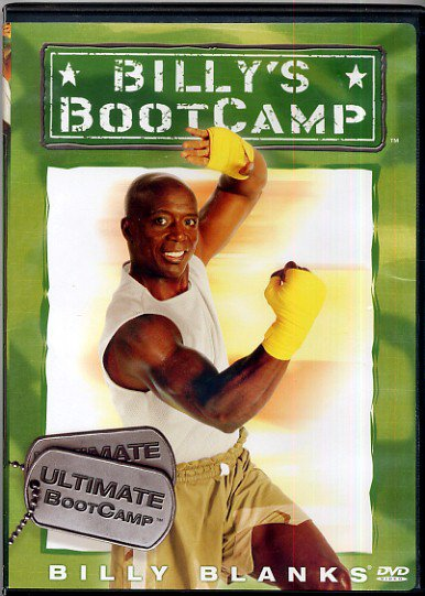 billy 39 s ultimate bootcamp boot camp aerobic cardio tae bo exercise workout dvd. Black Bedroom Furniture Sets. Home Design Ideas