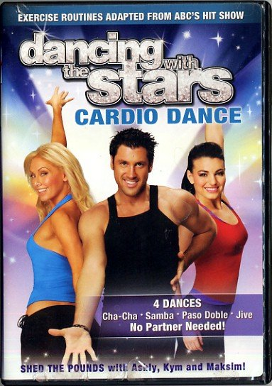 Dancing with the Stars Cardio Dance Aerobic Exercise Video DVD