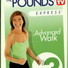 Leslie Sansone Walk Away the Pounds Express Advanced Walk 3 Mile Exercise Video VHS
