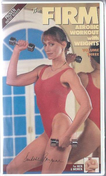 Firm Vol 3 Aerobic Workout with Weights Sandahl Bergman VHS Exercise Video in Clamshell