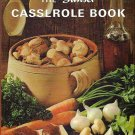 Sunset Casserole Book Vintage 1965 hardcover cookbook