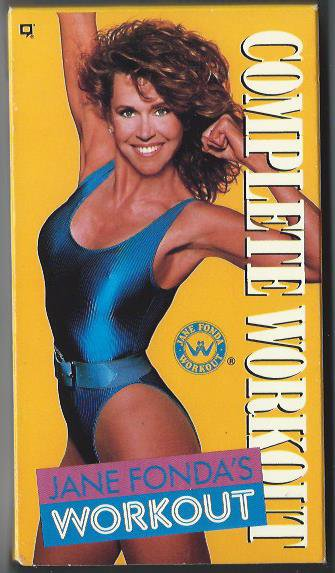 Jane Fonda Complete Workout VHS fitness aerobic exercise video