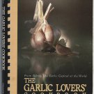 Garlic Lovers Cookbook Vintage 1982 Plastic SpiralBound Softcover