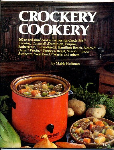 Crockery Cookery Mable Hoffman Vintage 1975 Crockpot Slow Cooker Cookbook sc