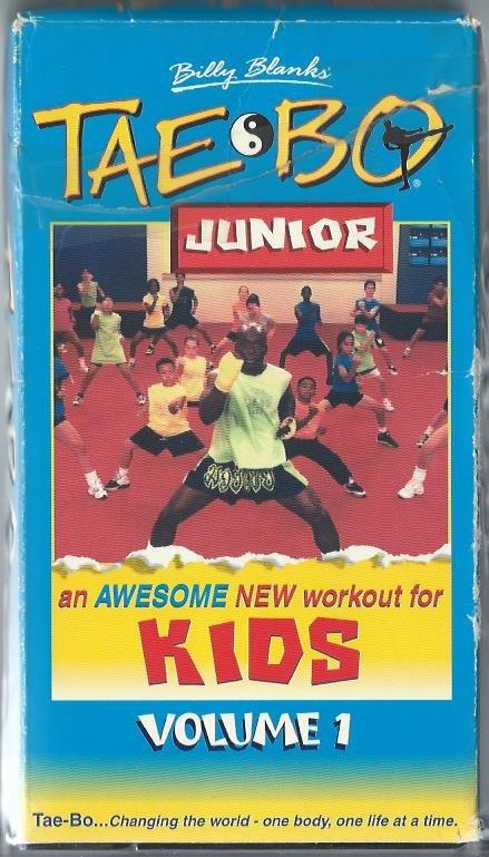 Billy Blanks Tae Bo Junior Kids Exercise Workout Video VHS