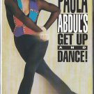 Paula Abdul Get Up and Dance Aerobic Exercise Workout Video VHS