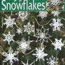 99 Snowflakes Leisure Arts Crochet Pattern Book 3013 Christmas Holiday Winter Seasonal