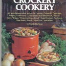 Crockery Cookery by Mable Hoffman Vintage 1975 hardcover crock pot cookbook