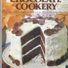 Mable Hoffman's Chocolate Cookery vintage hardcover cookbook