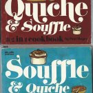 Quiche and Souffle Nitty Gritty 2-in-1 Cookbook Mayer Vintage