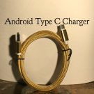 Type C Charging Cable for Android/Gold
