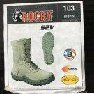 ROCKY SV2 TACTICAL BOOTS MEN'S SIZE 7.5, 103, MEDIUM WIDTH, SAGE GREEN, NEW