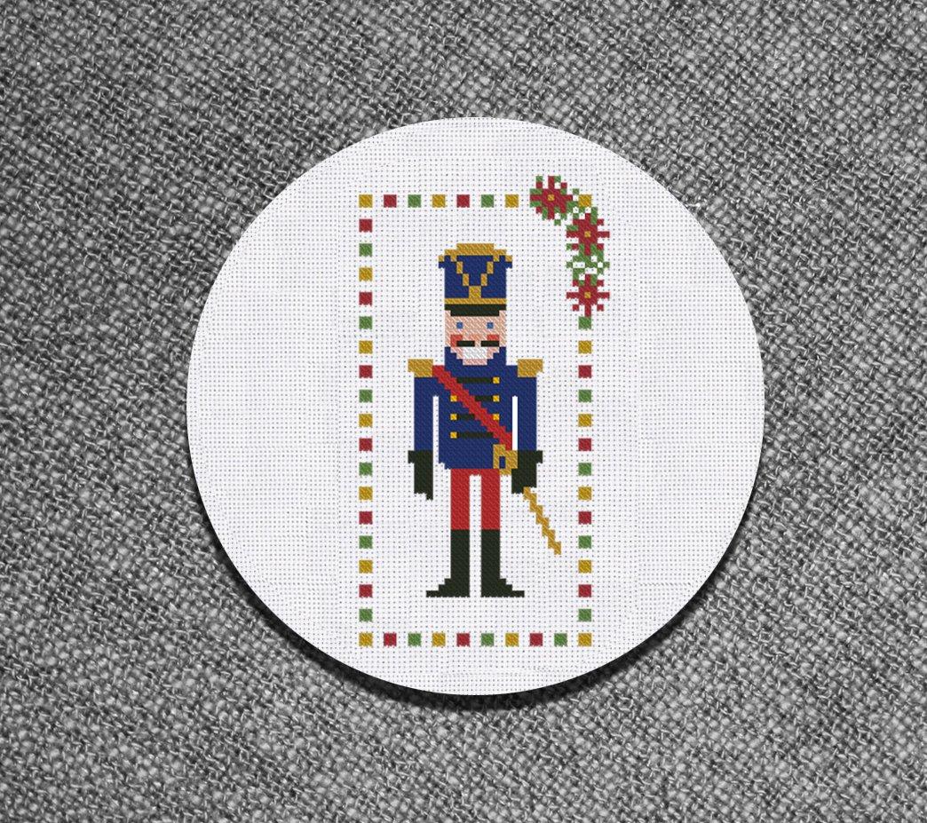 Cross stitch pattern Christmas Nutcracker