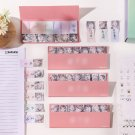 BTS Bangtan Boys Kpop Korean Sticky Notes Paper Memo Pad Kawaii Planner Sticker Stationery Bookmarks