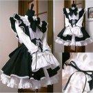 Kawaii Cute Maid Dress Cosplay Costume Lolita Maid Cafe Japanese Uniform