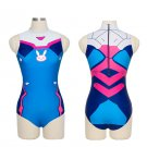Sexy Game Overwatch D.VA Cosplay Costume Spandex Anime Swimsuit Swimwear