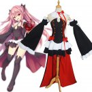 Anime Seraph Of The End Owari no Seraph Krul Tepes Uniform Cosplay Costume Full Set Dress Outfit