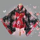 short anime cosplay japanese kimono lolita costume child halloween costumes women