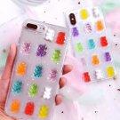 Handmade Gummy Bear Resin iPhone Case Phone Cover Korean Japanese Pastel Harajuku Cute