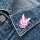 Overwatch DVA Game Enamel Pin Brooches Badge Jewellery Accessories Cosplay Costume