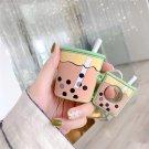 Apple Airpods Boba Milk Tea Bubble Cover Bluetooth Wireless Earphone Japanese Korean Cover Kawaii