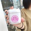 Apple Airpods Starbucks Coffee Drink Transparent Bluetooth Wireless Earphone Japanese Korean Kawaii