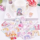 Kawaii Anime Girl 35PC Stickers Decals Scrapbooking Stationery School Supplies Cute Japanese