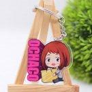 My Hero Academia Ochaco Uraraka Acrylic Keychain Keyring Pendant Anime Boku No Hero
