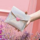 Kawaii Cute Bentoy Silver Sparkling Glitter Sanitary Bag Pads Tampons Pouch Napkin Makeup Bag